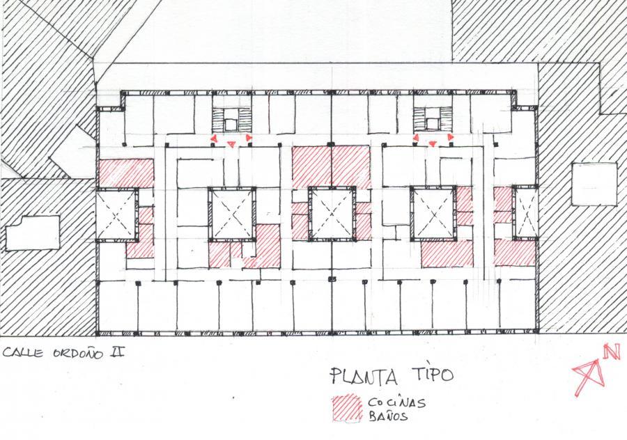 EDIFICIO C/ ORDOÑO II nº 28-30