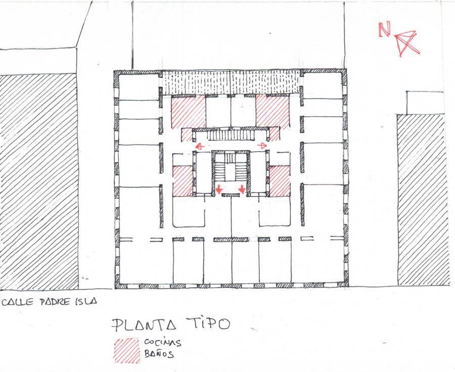 EDIFICIO C/ PADRE ISLA nº 34