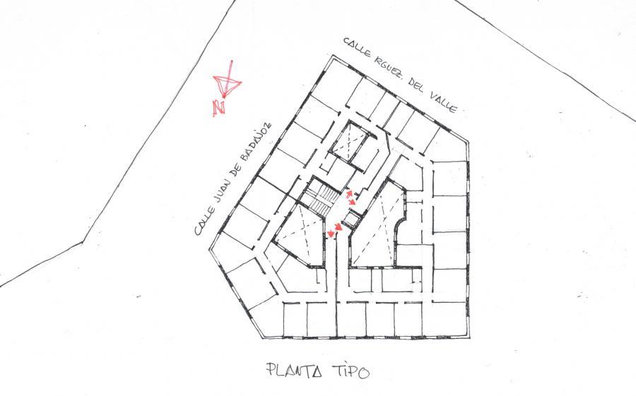 EDIFICIO C/ JUAN DE BADAJOZ nº 2
